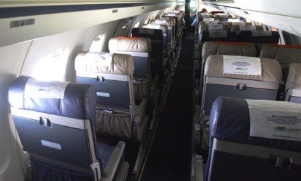 USP irá fazer teste para avaliar conforto em aviões. Conforto???