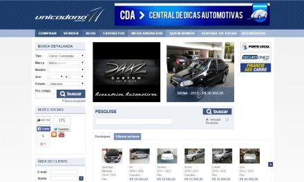 Paulistano cria site especializado em carros usados com único dono