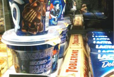Duro de pagar: chocolates superfaturados nos cinemas