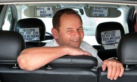 """Hoje é comemorado o Dia do Taxista… """"Welcome to my car!"""""""