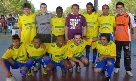 Está em campo a Seleção Brasileira dos Sósias