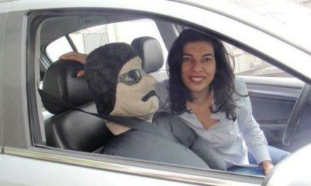 """Mulheres ao volante e o """"guarda-costas"""" Wilson ao lado"""