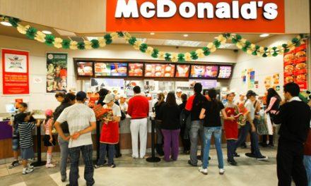 O McDonald's e o caixa preferencial