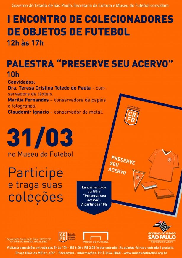 Museu do Futebol promove encontro de colecionadores  53b66201078bf