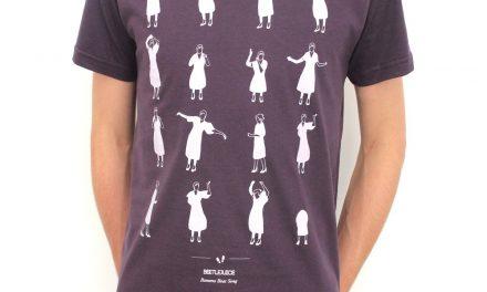 Camisetas trazem 10 danças famosas do cinema e da TV