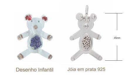 Desenhos e garranchos feitos por crianças viram joias de verdade