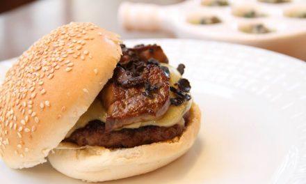 Hambúrguer mais caro: sai o foie gras e entra o caviar e o salmão selvagem