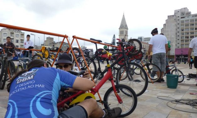 ONG arrecada bicicletas para presentear crianças carentes