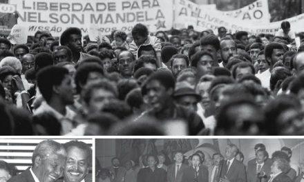 O dia em que Nelson Mandela passou frio numa visita a São Paulo