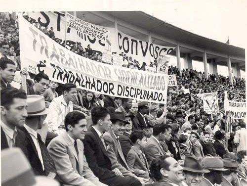 O curioso 1º de maio de 1944 com Getúlio Vargas no Estádio do Pacaembu