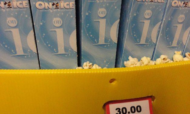 Pipoca a 40 reais no Disney On Ice. Alguém pode chamar o Coronel Cintra?
