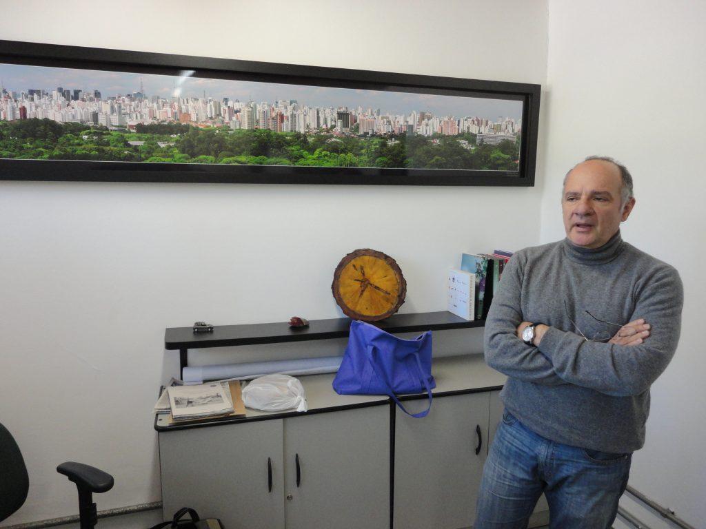 """Heraldo Guiaro: o administrador do """"Ibira"""""""