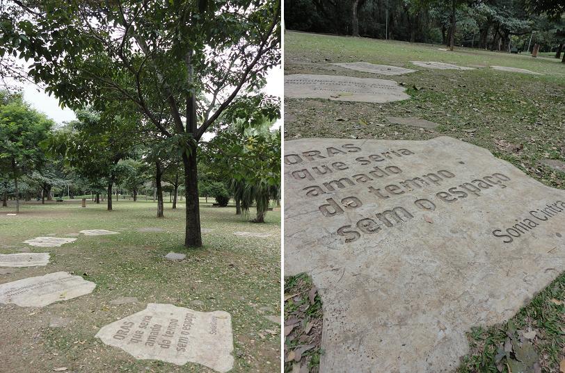 """A """"Árvore da Poesia"""", na Praça da Paz"""