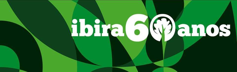 """O logo comemorativo do sexagenário Parque Ibirapuera - o nosso """"Ibira"""""""