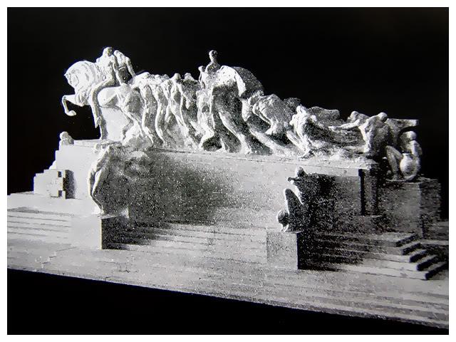 O projeto de 1920 do Monumento às Bandeiras