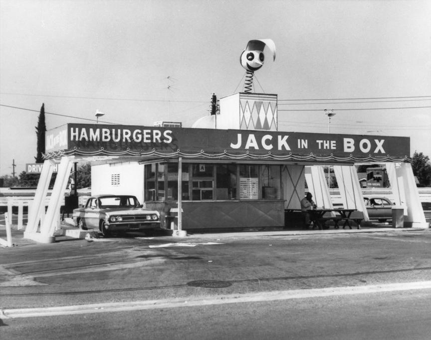 primeira loja jack in the box