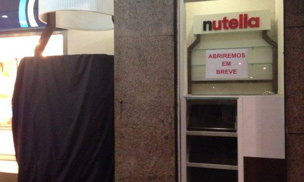 Segunda loja exclusiva da Nutella chega esta semana à Avenida Paulista