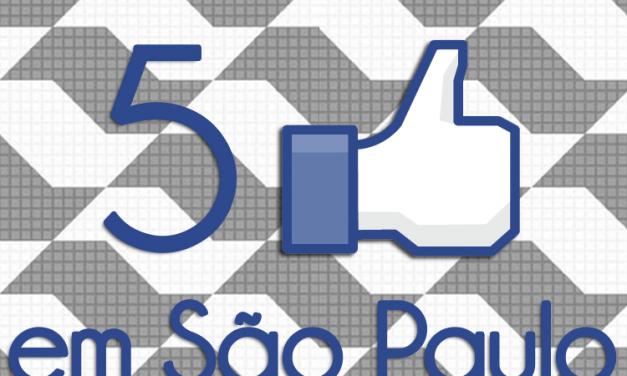 """A estreia de """"5 Curtidas em São Paulo"""", com o escritor Toni Brandão"""