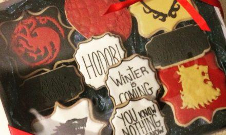 """Biscoitos com símbolos de """"Game of Thrones"""" podem agradar namorados nerds"""
