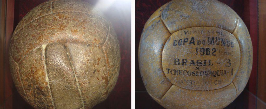 Bolas das Copas de 1958 e 1962, respectivamente.