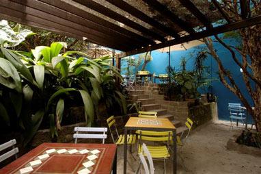 Área do Restaurante Buttina, em Pinheiros