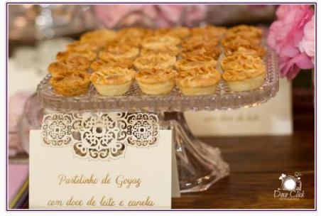 Releitura do pastelzinho de Belém, este é o pastelinho de Goyas