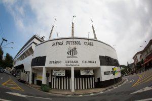 SANTOS - SP - 24/04/2015 - ESTÁDIO URBANO CALDEIRA (VILA BELMIRO) - Fachada - Foto: Ricardo Saibun/DiarioSP