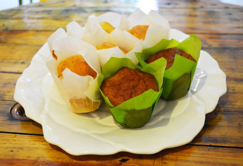 Cupcakes de limão siciliano também na versão sem lactose.