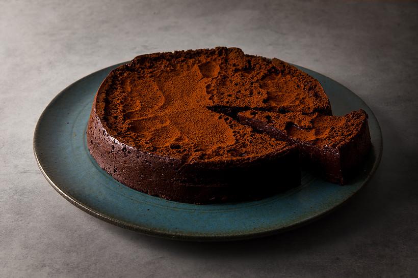 A torta Explosão de chocolate tem 70% cacau e não contém glúten