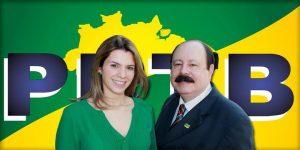"""Livia e o pai, Levy Fidelix: """"Nossas ideias caminham juntas"""""""